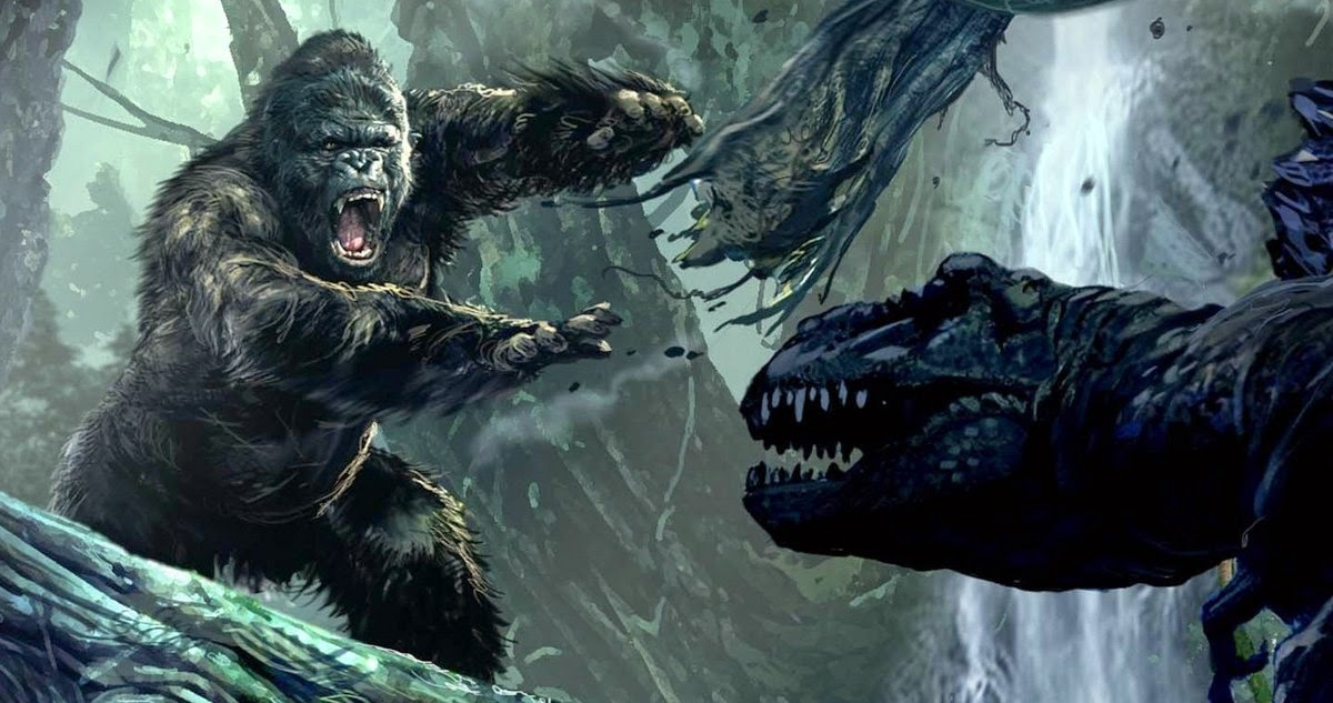 Skull Island Teaser Reveals King Kong Remake At Comic Con: Kong: Skull Island Set For (2017), As Great Wall Is Set