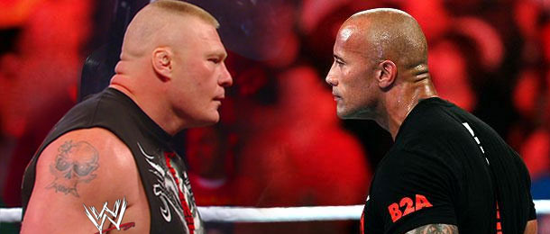 The Rock Vs Brock Lesnar Wrestlemania 30 | www.pixshark ...