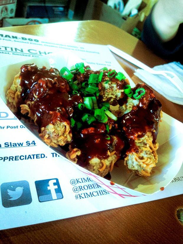 Ramen Fried Chicken |Photo credit: Andrew Kao