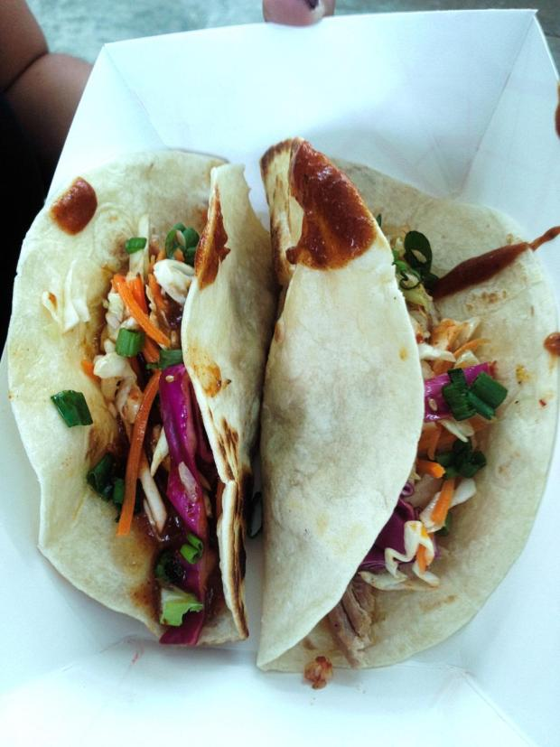 Fatboy Chipotle Sauce Tacos | Photo credit: Andrew Kao
