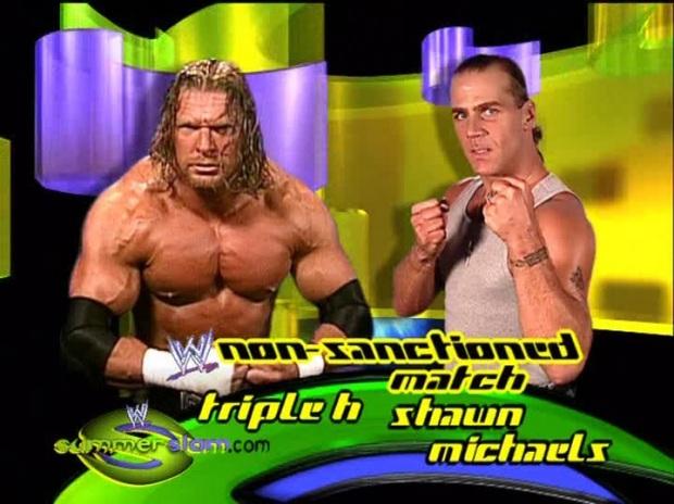 Triple H Shawn Michaels