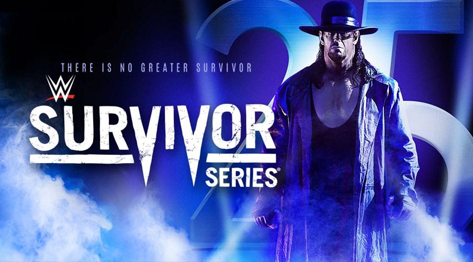 wwe survivor series 25 years of the undertaker 2015 sparx
