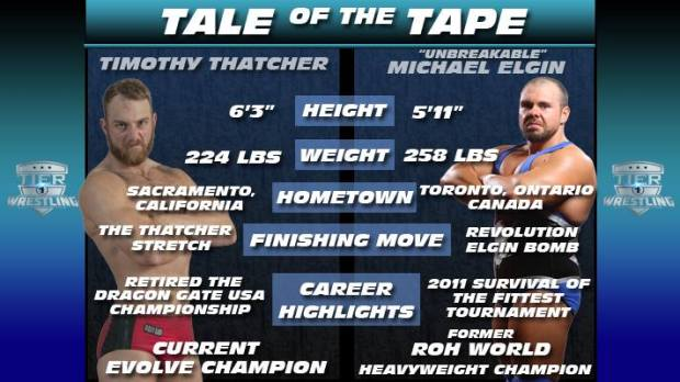 "Press: Thatcher vs. Elgin ""March To Victory"" (2016) 