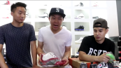 While talking about Jordans, the trio rapped a song by DMX | Credit: The Fung Bros.