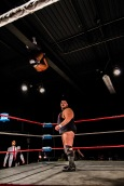 Flip may be taking his name to new heights. Ace Romero; Tier 1 Wrestling | Credit: Andrew Kao
