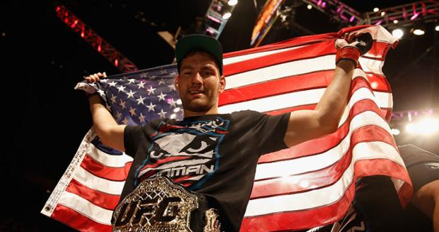 Chris Weidman   Credit: UFC