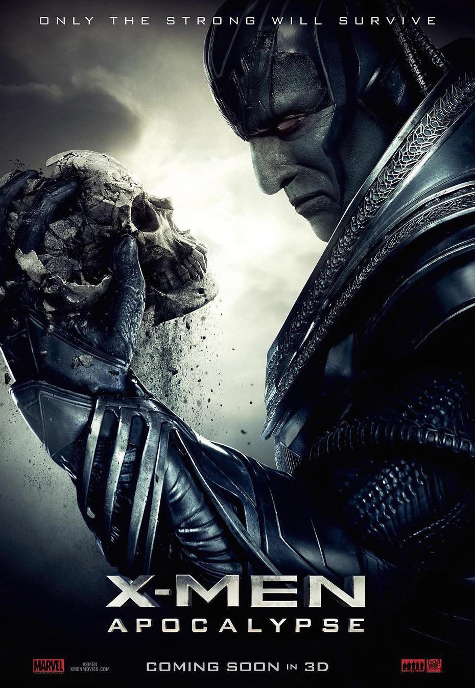 """X-Men: Apocalypse (2016) """"Only the Strong Will Survive""""   Credit: Marvel & 20th Century Fox"""