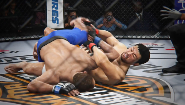 Official gameplay snapshoot for EA Sports 'UFC 2' (2016) | Credit: EA Sports