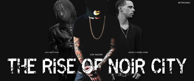 """The Rise Of Noir City"", from left to right; Jay Million, CK Noir, Nino Corelone 