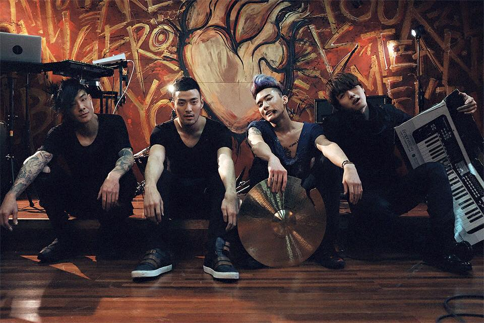 (From left to right) Enik Lin, James Lee, EXSY, & Moon Kim; 'Royal Pirates'   Credit: Royal Pirates