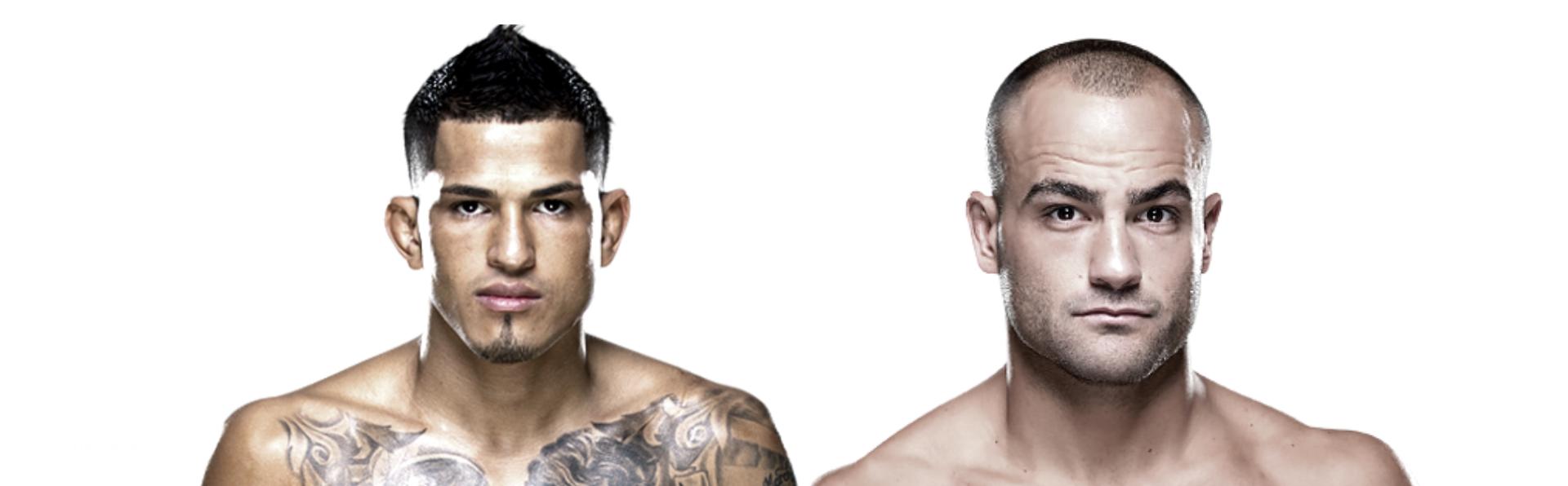 Anthony Pettis & Eddie Alvarez; UFC   Credit: UFC (Images) & Designed by: The SPARX Team