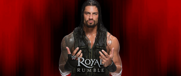 Roman Reigns | Credit WWE & Designed by The SPARX Team