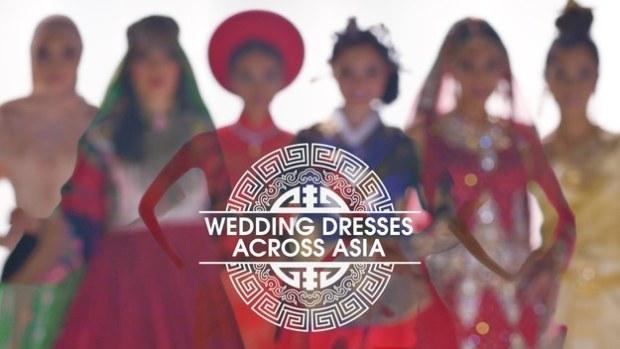 """Wedding Dresses Across Asia"" | Credit: Eugene Lee Yang & BuzzFeed"
