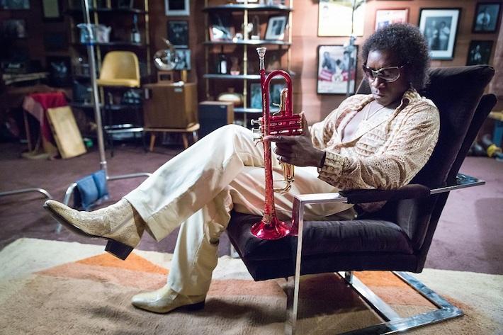Don Cheadle as Miles Davis   Credit: Sony Picture Classics