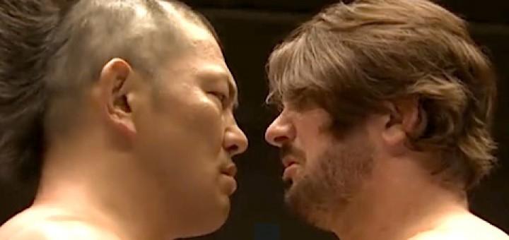 AJ Styles vs. Minoru Suzuki | Credit: NJPW