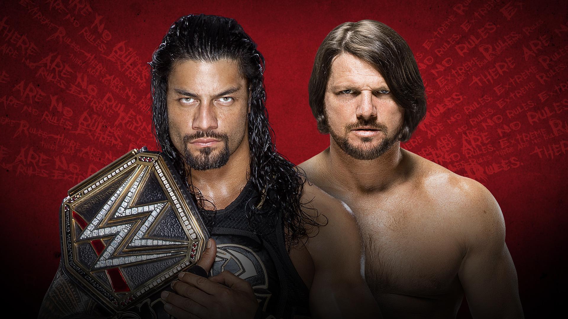 Roman Reigns vs. AJ Styles | Credit: WWE