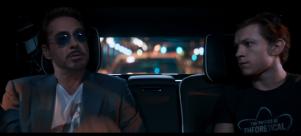 Tony Stark (Robert Downey Jr.) talking to Peter Parker (Tom Holland; 'Spider-Man: Homecoming' (2017) | Credit: Marvel Studios/Sony/Disney