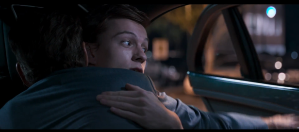 """...This isn't a hug I'm just trying to open the car door...""; 'Spider-Man: Homecoming' (2017) 