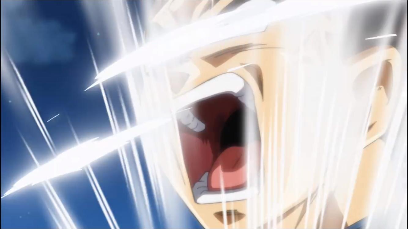 Vegeta powering up | Credit: Toriyama Animation