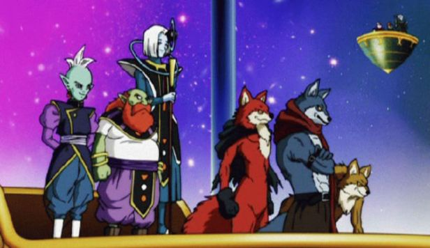 Universe 9's representatives | Credit: Akira Toriyama