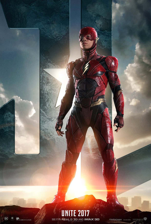 The-Flash-Justice-League-Poster