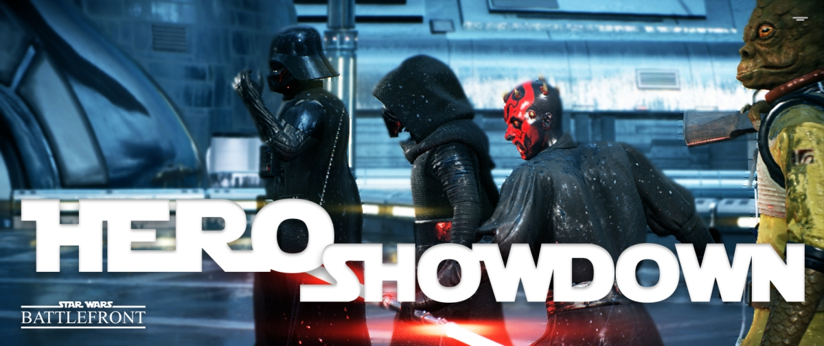 STAR WARS: Battlefront II - Hero Showdown (Gameplay)