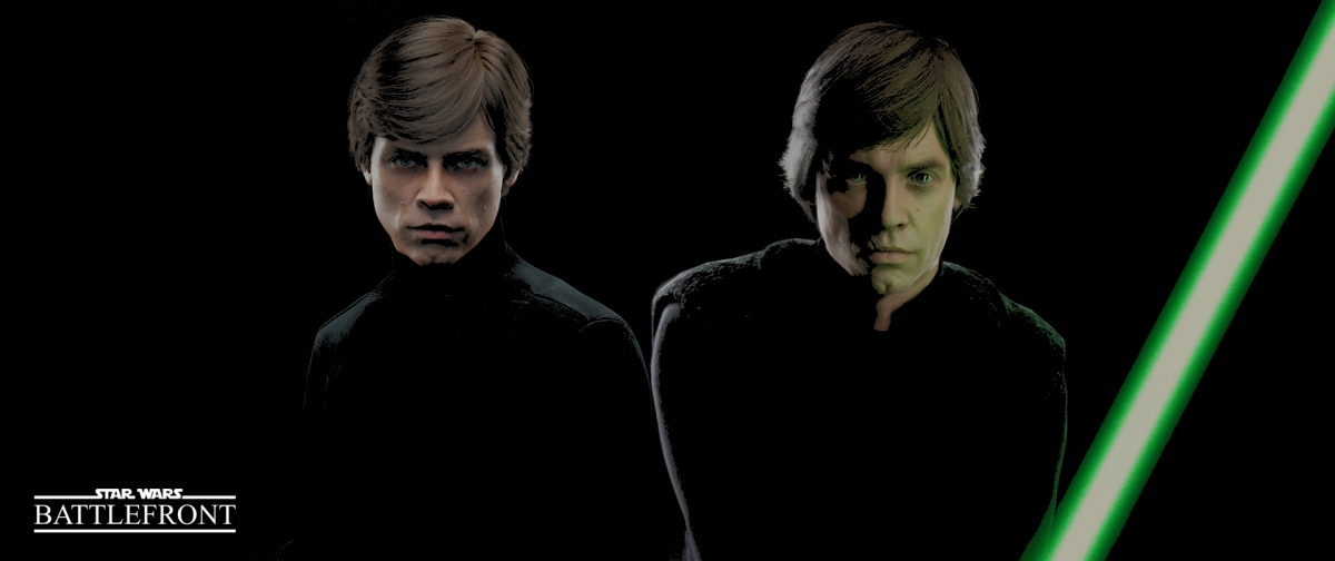 Gameplay: STAR WARS 'Battlefront I/II': Luke Skywalker