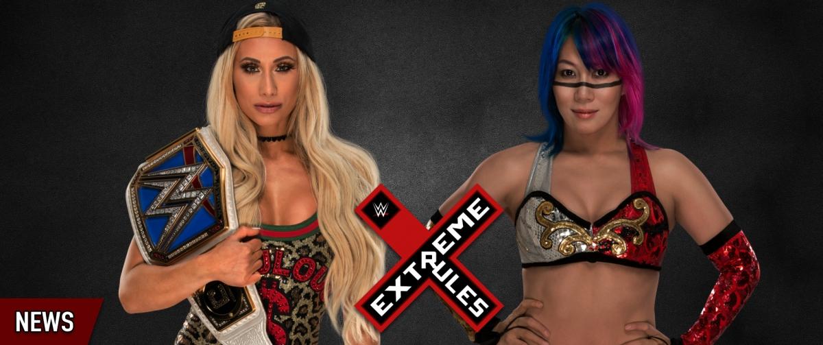 WWE Extreme Rules (2018): Carmella vs. Asuka - WWE SD Live Women's Championship
