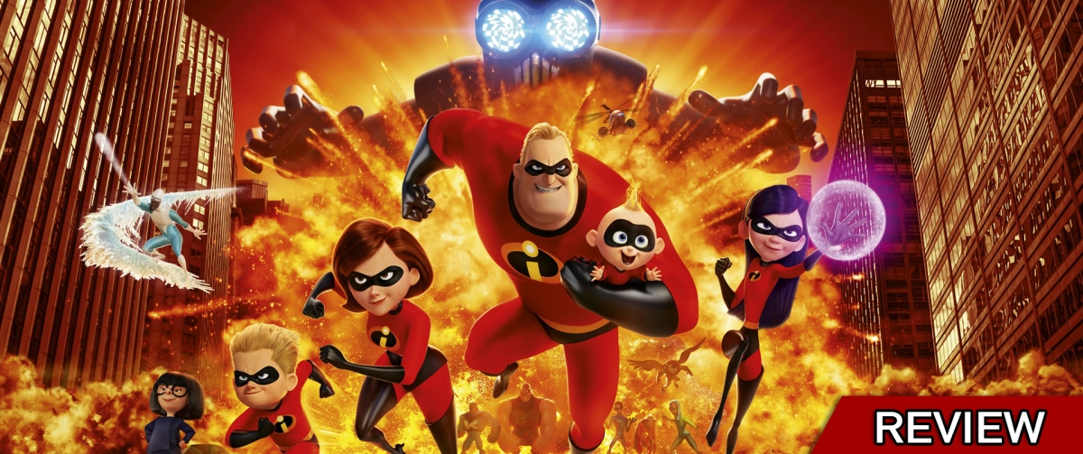 Review: 'Incredibles 2' (2018)